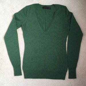 The Limited Merino Wool V-Neck Sweater